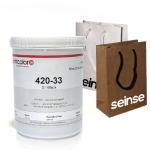 Serie 420 Tinta de serigrafía H2O para plásticos