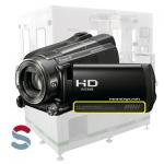 Carcasa de cámara de video